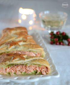 Filetto di salmone in crosta