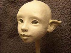 Sculpted Air Dry or Polymer Clay Fairy Tutorial