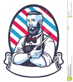 Resultado de imagem para barbearia desenho