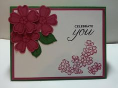 Birthday blossoms #1 by lizzier - Cards and Paper Crafts at Splitcoaststampers