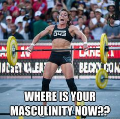 Funny blog post about Crossfit. Disclaimer...I am kinda digging crossfit now though :)