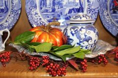 A FRENCH COUNTRY KITCHEN FALL TOUR - Belle Bleu Interiors