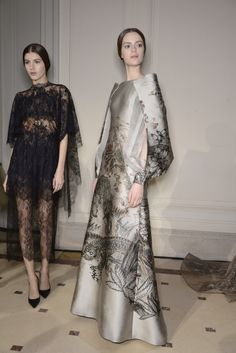 Valentino Haute Couture Spring/ Summer 2014 #backstage