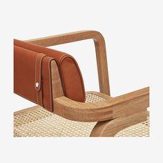 Oria d'Hermes low armchair - detail