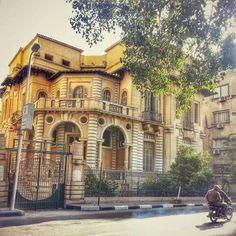 Garden city Cairo