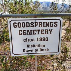 Goodsprings, NV in Nevada