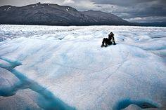 Tami sits on an ice cream lake... http://101lugaresincreibles.com/2015/01/35-fotos-que-confirman-que-la-patagonia-austral-se-parece-los-paisajes-de-la-era-del-hielo.html