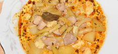 8 mennyei raguleves, amit imádni fogsz! - Receptneked.hu - Kipróbált receptek képekkel Empanadas, Hawaiian Pizza, Hummus, Macaroni And Cheese, Curry, Food And Drink, Soup, Ethnic Recipes, Mac And Cheese