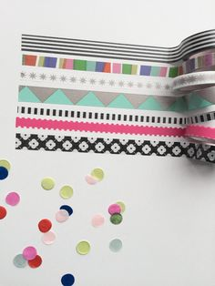 A mambi SHOP exclusive! Washi tape assortments make it easy to decorate your Happy Planner™ or any other project you might be working on. Every project can use some cute washi tape…especially The Happ