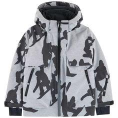 7c0028123c419 Manteau de ski avec intérieur en polaire - Alpine Molo pour garçon