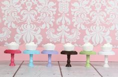 GroopDealz | Luxe Wooden Cupcake Stands Round/Square