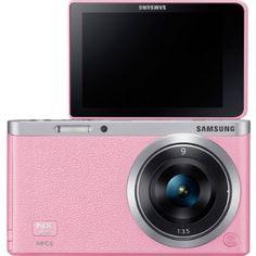 Pink Vlog Camera