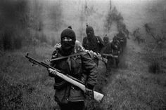 1994 Zapatista. great composition on this photo