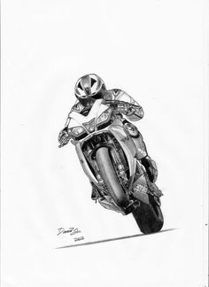 motorcycle drawing Aprilia by DSL-FZR Biker Tattoos, Motorcycle Tattoos, Motorcycle Art, Bike Art, Motorcycle Memes, Futuristic Motorcycle, Motorcycle Outfit, Art Moto, Natur Tattoo Arm