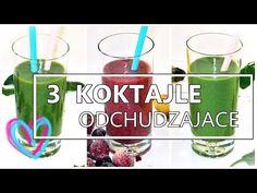 SUPER 3 Koktajle Na Odchudzanie i Zdrowie! PYCHA! - YouTube Recepta, Shot Glass, Smoothie, Tableware, Youtube, Diet, Losing Weight, Dinnerware, Tablewares