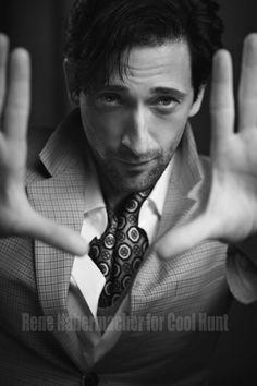 Adrien Brody by Rene Habermacher