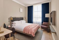 The last project of the hotelier Aby Rosen designed by the architects Beyer Blinder Belle is the perfect combination of North European taste and the New York aesthetic