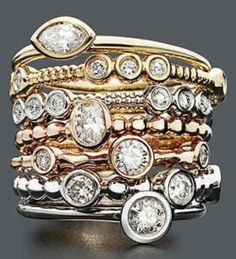 stackable rings - Tumblr Hello!!!!!!!