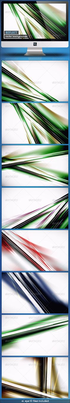 Reflect - Vector Backgrounds