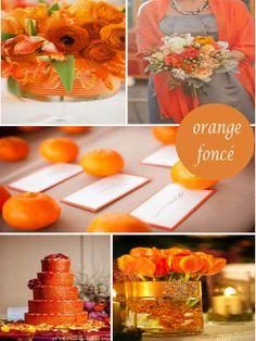 La couleur palette en automne 2014 la mode sangria - Mariage couleur orange ...