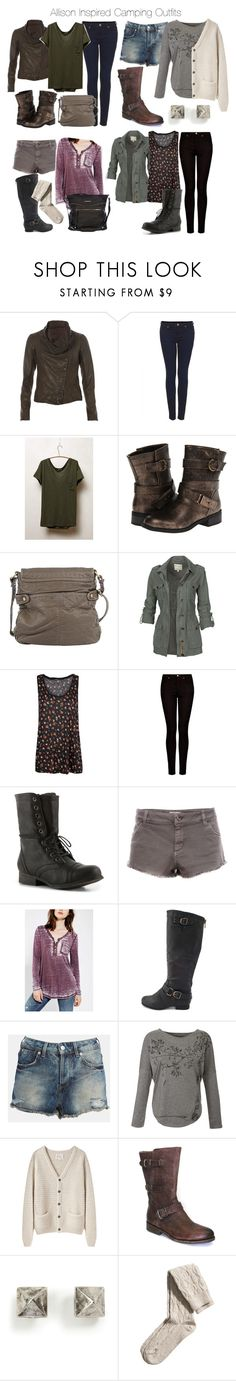 Allison Inspired Camping Outfits by veterization on Polyvore featuring BDG, La Garçonne Moderne, People Tree, t.la, MANGO, Fat Face, AllSaints, Topshop, Pull&Bear and H&M