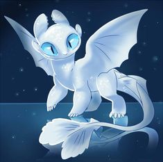 Light Fury💙 Httyd Dragons, Cute Dragons, Dragon Wallpaper Iphone, Night Fury Dragon, Dragon Nursery, Dragon Light, Dragon Family, Viking Dragon, Pony Drawing