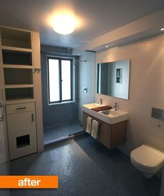 Before & After: A Modern Bathroom Update in the West Village