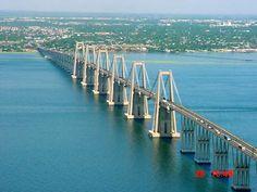 Nuestro majestuoso puente, orgullo de la ingeniería venezolana posee cerca ...  Vía ovario.wordpress.com