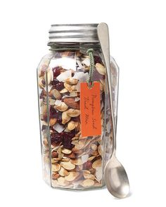 """Autumn in a Jar"" (Martha Stewart trail mix recipe)  :)"
