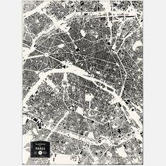 SWEET PARIS !  Buildings Of Paris Print, now featured on Fab.