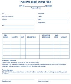 download a free purchase order template for excel a simple way to