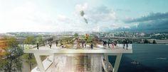 Galeria - OMA   OLIN vencem concurso para projetar um parque elevado em Washington D.C. - 91