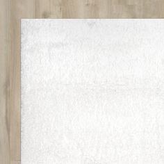 Found it at Wayfair - Celsian Snow White Area Rug