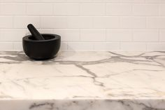 Statuario Marble, Stone Kitchen, Butler Pantry, Mortar And Pestle, Natural Stones, Kitchens, Beautiful, Instagram, Pantry Room