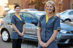 A publicity shot of our home care staff and branded car. Glasgow City, City Council, Car, Automobile, Vehicles, Autos