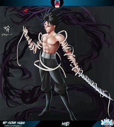 Yu Yu Hakusho - Victor Hugo Yu Yu Hakusho Anime, Geek Stuff, Victor Hugo, Manga, Art, Yuyu Hakusho, Cartoon, Characters, Drawings