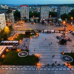 Iasi, Unirea square www.secretromania.com