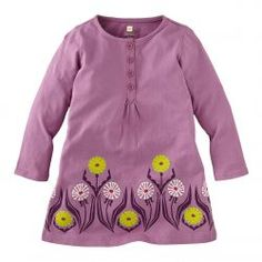 Tea Collection Lowenzahn Henley Dress