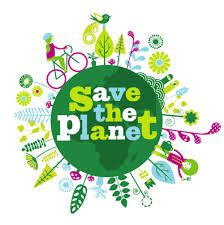 Save the Earth. There isn't planet B.