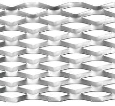 Tôle métallique en acier - métal déployé