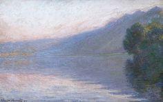 Claude Monet 1894 The Seine at Port-Villez