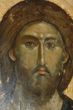 Christ - Pantocrator Ruler Of All Serbian Monastery - Hilander, MT. Byzantine Icons, Byzantine Art, Religious Icons, Religious Art, Anima Christi, Christ Pantocrator, Images Of Christ, Archangel Michael, Art Icon