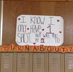 Cute turnabout ideas