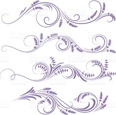 Decorazione con tappo lavanda royalty-free stock vector art