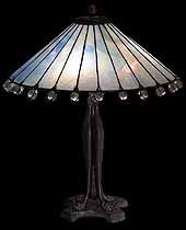 Tiffany Lamps, antique Tiffany lamp restoration, designs of Tiffany Studios New York, Table Lamps, Floor Lamps, Hanging Lamps