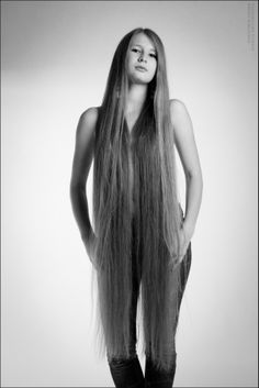 The wonder of long hair. The dream of many, the fulfillment of few.