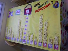 Popcorn contest, great for membership drive or Box Tops drive