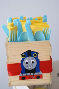 "Photo 1 of 20: Thomas the Train / Birthday ""Choo Choo Josh turns 4"" | Catch My Party"