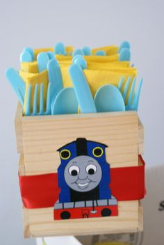 "Photo 1 of 20: Thomas the Train / Birthday ""Choo Choo Josh turns 4"" 