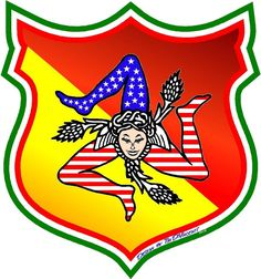 Sicilian-American Crest